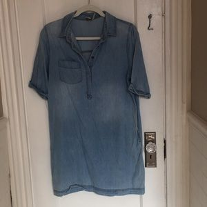 5 for $25: Paper crane chambray dress